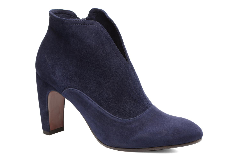 Bottines et boots Chie Mihara X-Fedora 31 Bleu vue détail/paire