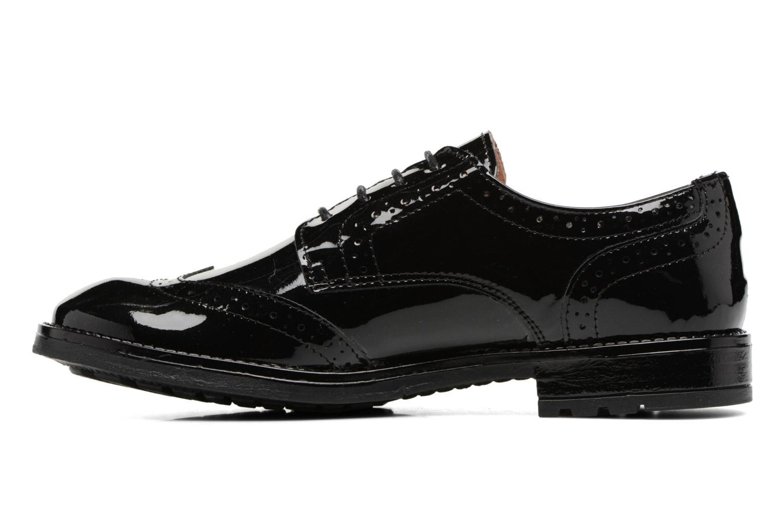 Chaussures à lacets Acebo's Camilla Noir vue face