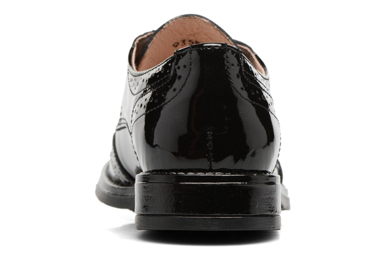 Chaussures à lacets Acebo's Camilla Noir vue droite