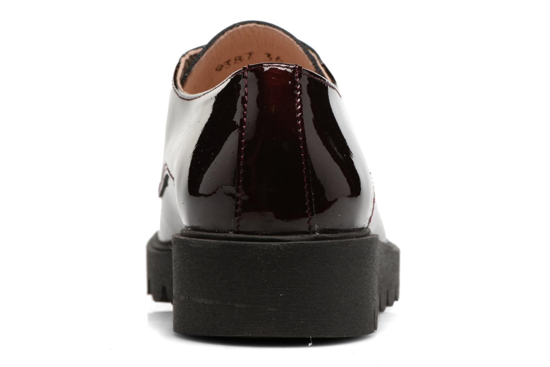 Chaussures à lacets Acebo's Simona Bordeaux vue droite
