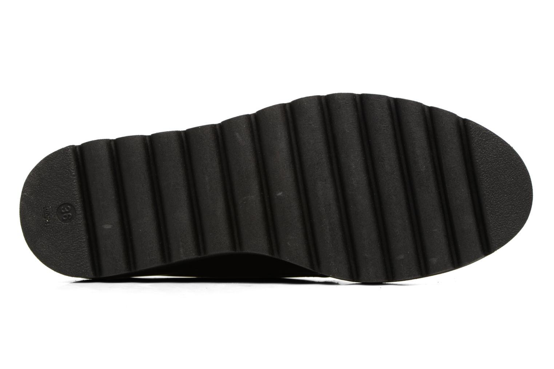 Chaussures à lacets Acebo's Simona Bordeaux vue haut