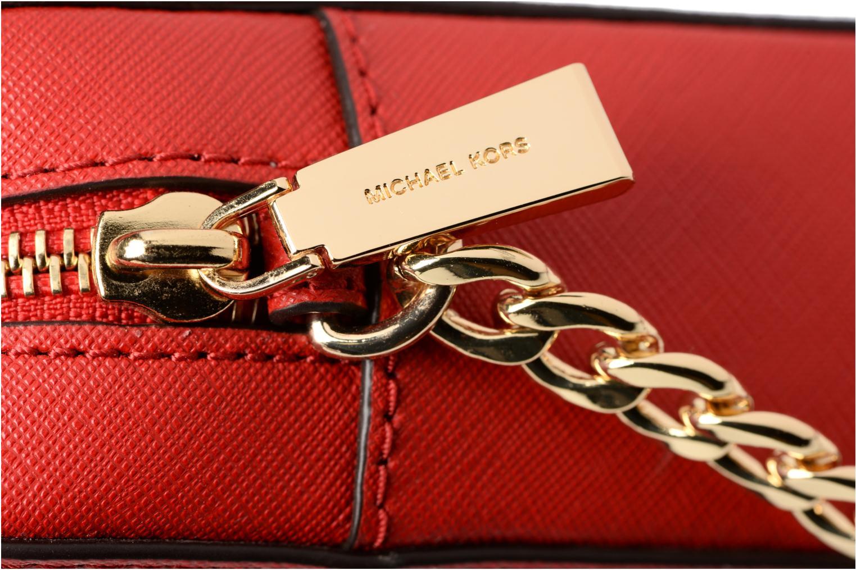 Bolsos de mano Michael Michael Kors LG EW Crossbody Rojo vista lateral izquierda