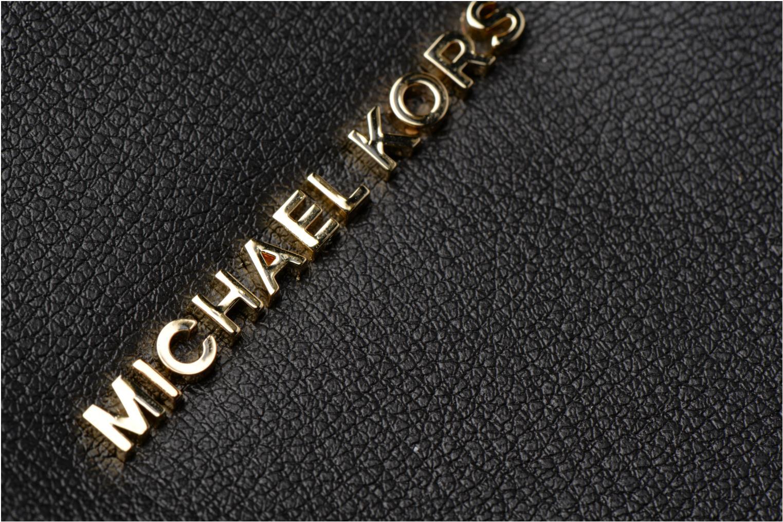 Sacs à main Michael Michael Kors Rivingtonstud LG Tote Noir vue gauche