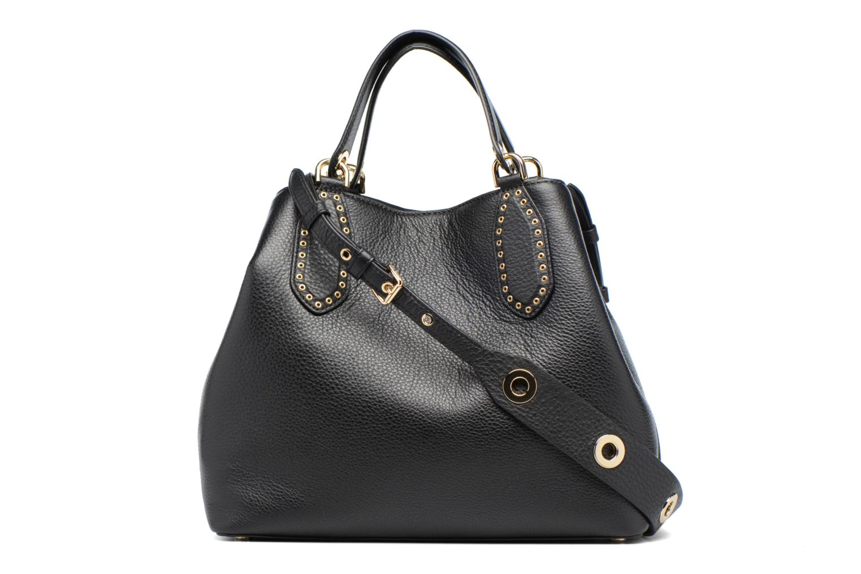 Sacs à main Michael Michael Kors Brooklyn LG Grab Bag Noir vue face