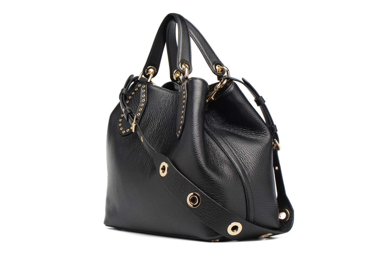 Sacs à main Michael Michael Kors Brooklyn LG Grab Bag Noir vue droite