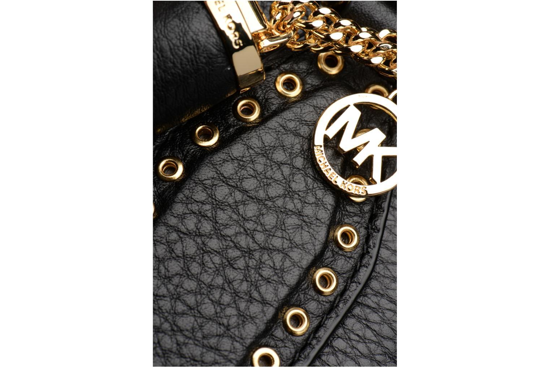 Sacs à main Michael Michael Kors Brooklyn LG Grab Bag Noir vue gauche