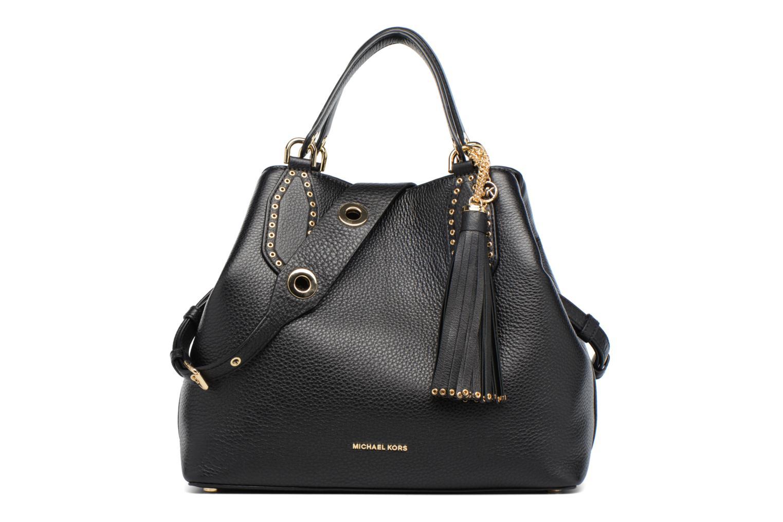 Sacs à main Michael Michael Kors Brooklyn LG Grab Bag Noir vue détail/paire