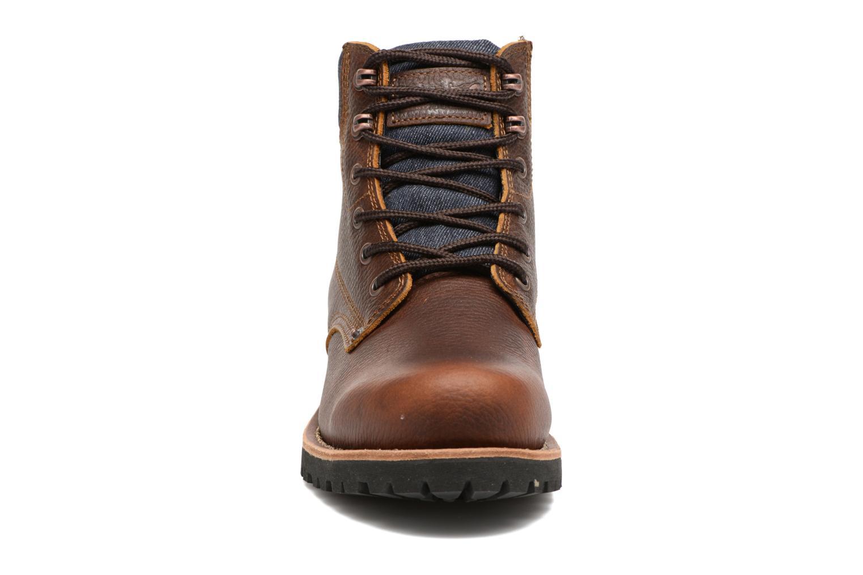 Bottines et boots Levi's Jackson Marron vue portées chaussures