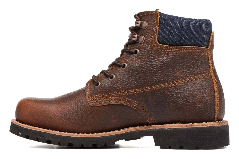 Bottines et boots Levi's Jackson Marron vue face