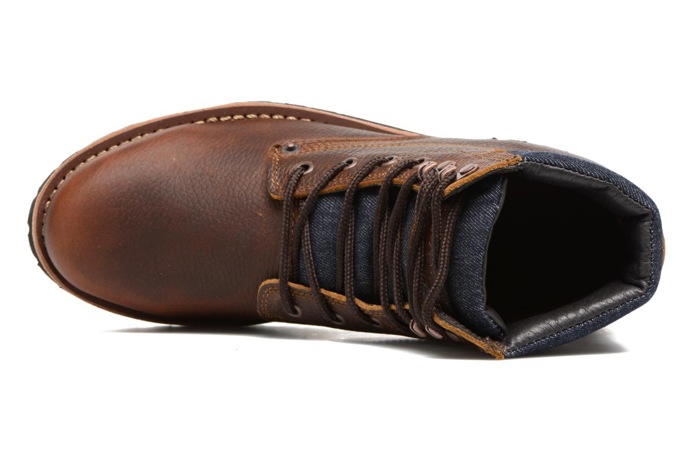 Bottines et boots Levi's Jackson Marron vue gauche