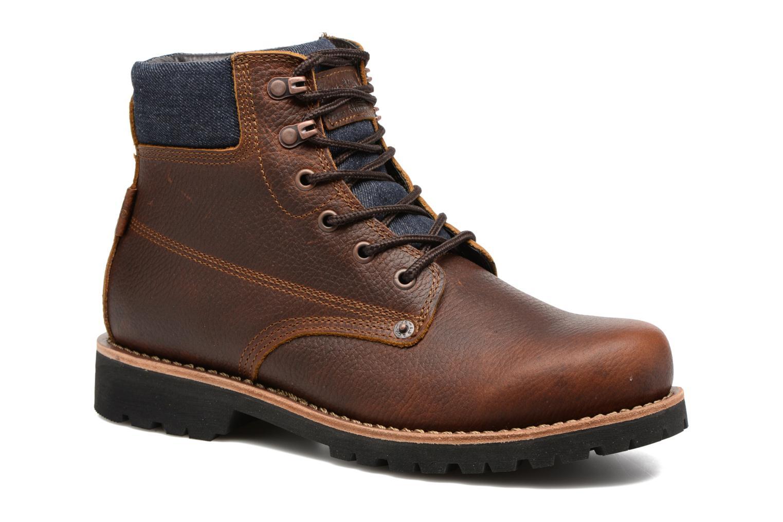 Bottines et boots Levi's Jackson Marron vue détail/paire