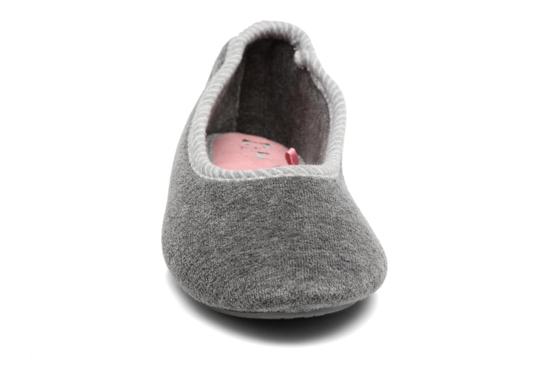 Chaussons Dim D Randa Gris vue portées chaussures