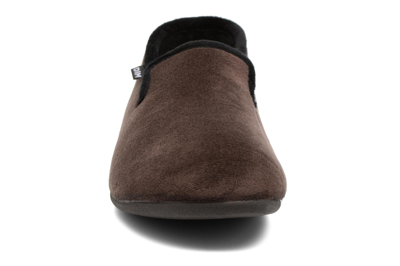 Chaussons Dim D Melvin 2 Marron vue portées chaussures