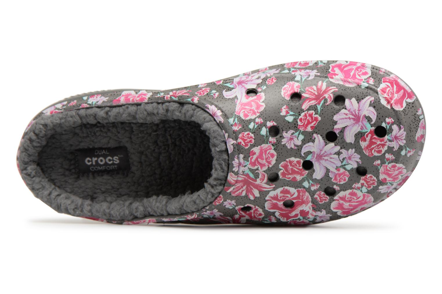 Floral Slate Grey Lined Freesail Graphic Crocs Crocs Multi wUxqX6YZ0