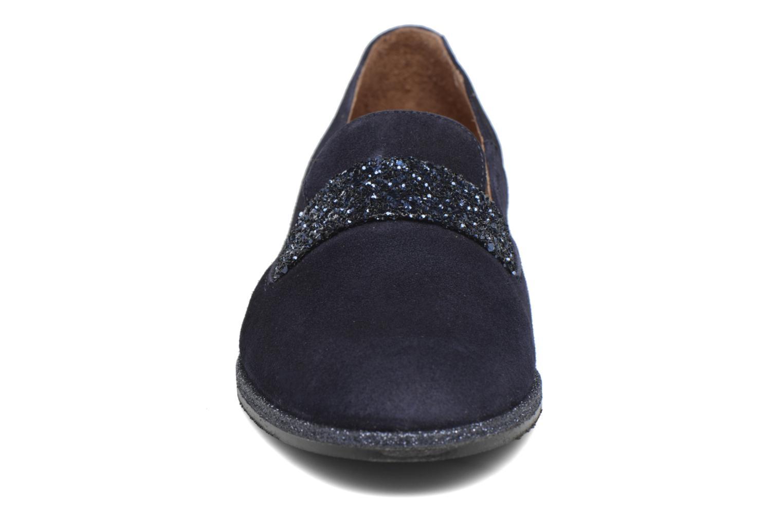 Mocassins Georgia Rose ESTELLA Bleu vue portées chaussures