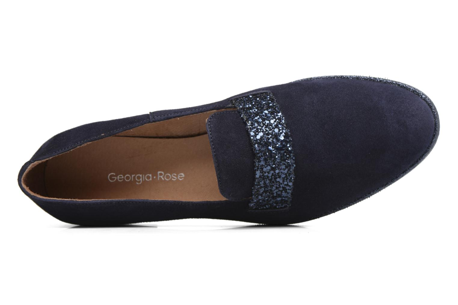 Loafers Georgia Rose ESTELLA Blue view from the left