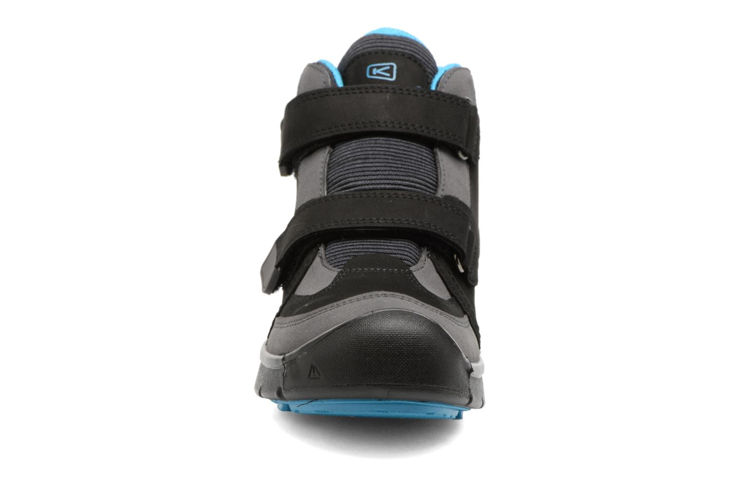 Hikeport Mid Strap Black/Blue Jewel
