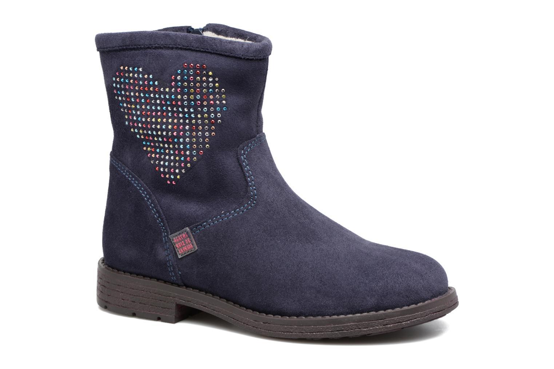 Bottines et boots Agatha Ruiz de la Prada Vagabunda 2 Bleu vue détail/paire