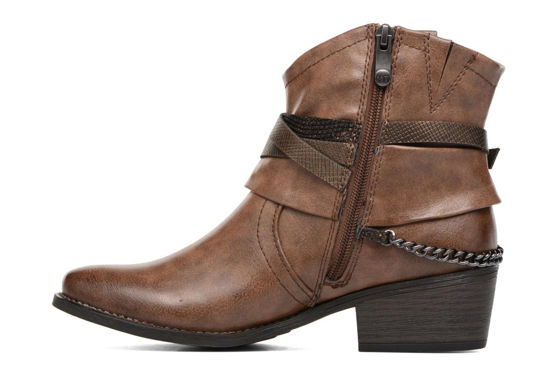 Bottines et boots Marco Tozzi Rina 2 Marron vue face