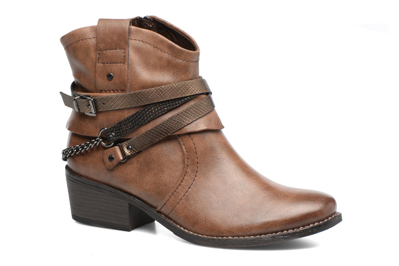 Bottines et boots Marco Tozzi Rina 2 Marron vue détail/paire