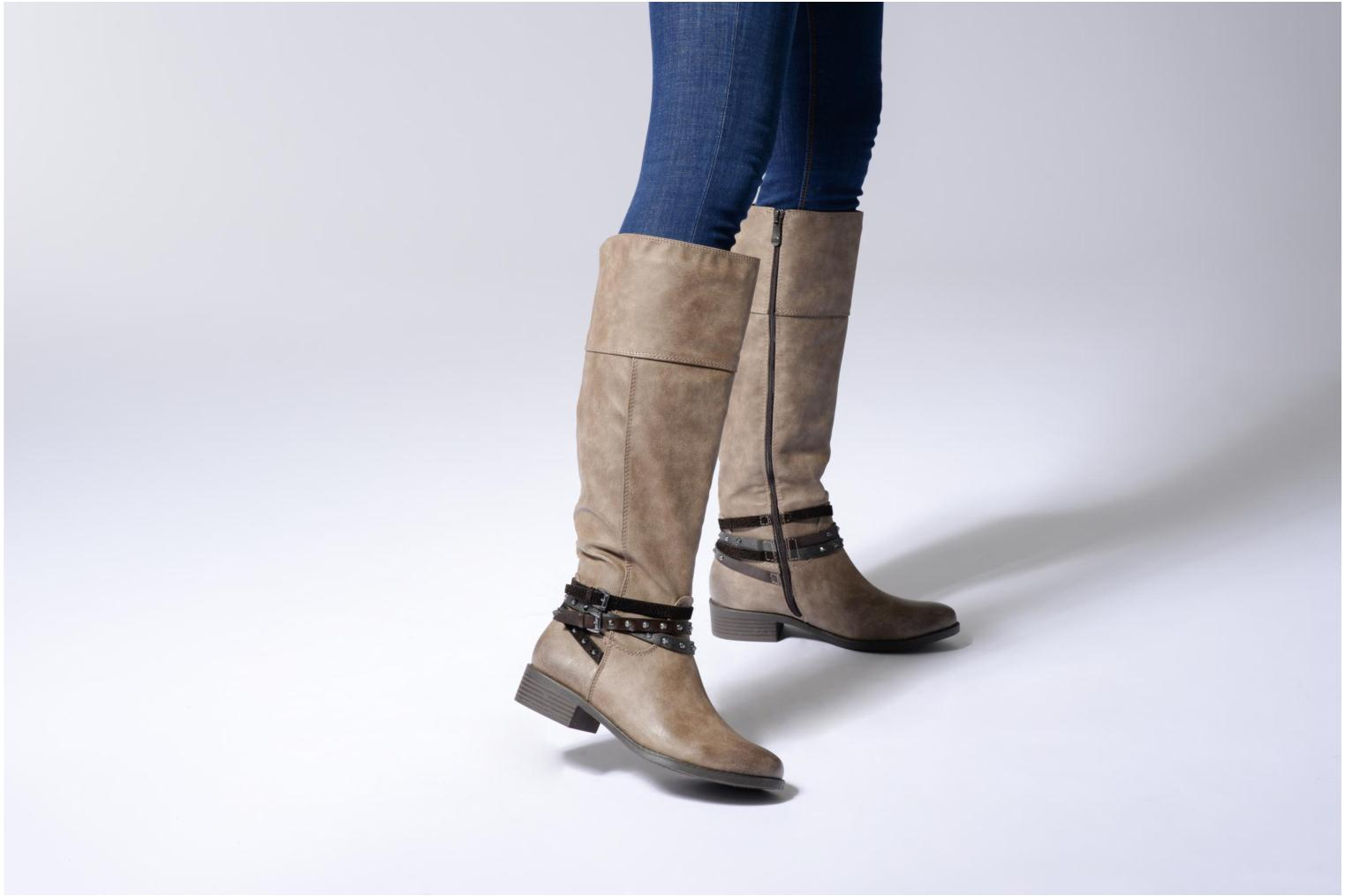 Boots & wellies Marco Tozzi Rason 2 Brown view from underneath / model view
