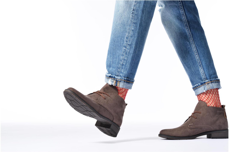 Chaussures à lacets Marco Tozzi Jina 2 Noir vue bas / vue portée sac