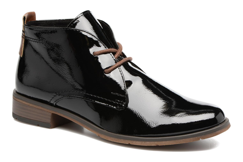 Chaussures à lacets Marco Tozzi Jina 2 Noir vue détail/paire