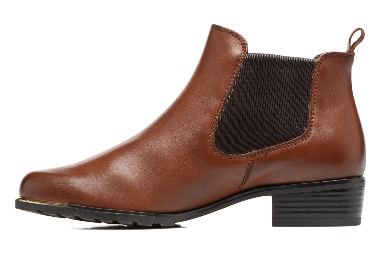 Bottines et boots Caprice Kelli 2 Marron vue face