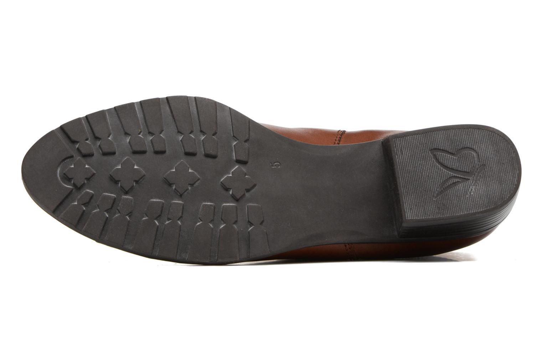 Bottines et boots Caprice Kelli 2 Marron vue haut
