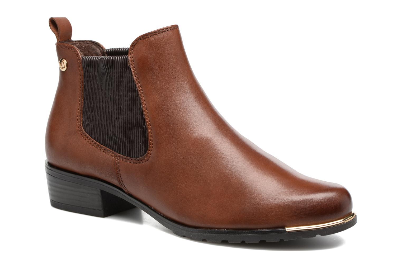 Bottines et boots Caprice Kelli 2 Marron vue détail/paire