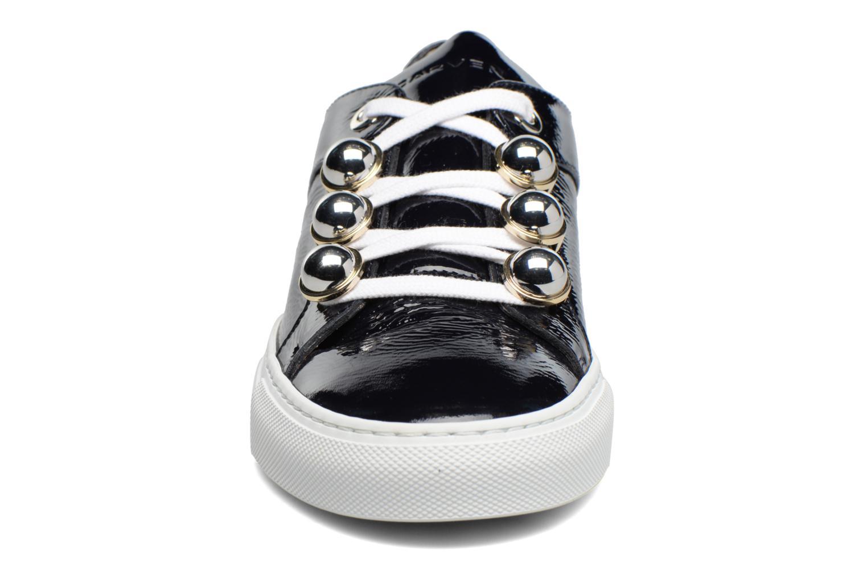 Baskets Carven Germain Bleu vue portées chaussures