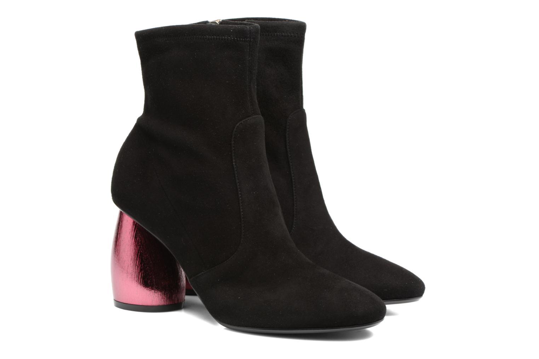 Bottines et boots Carven Seine Noir vue 3/4