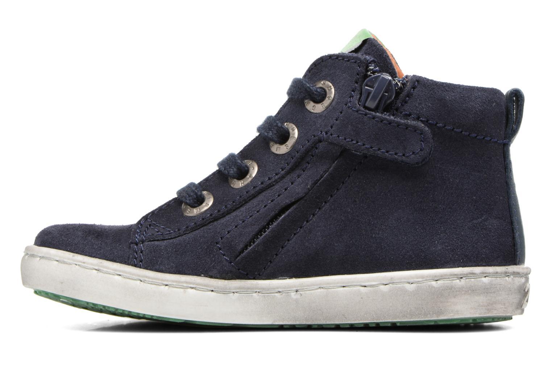Sneakers Shoesme Sébastien Azzurro immagine frontale