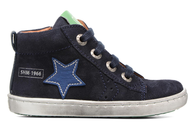 Sneakers Shoesme Sébastien Blauw achterkant