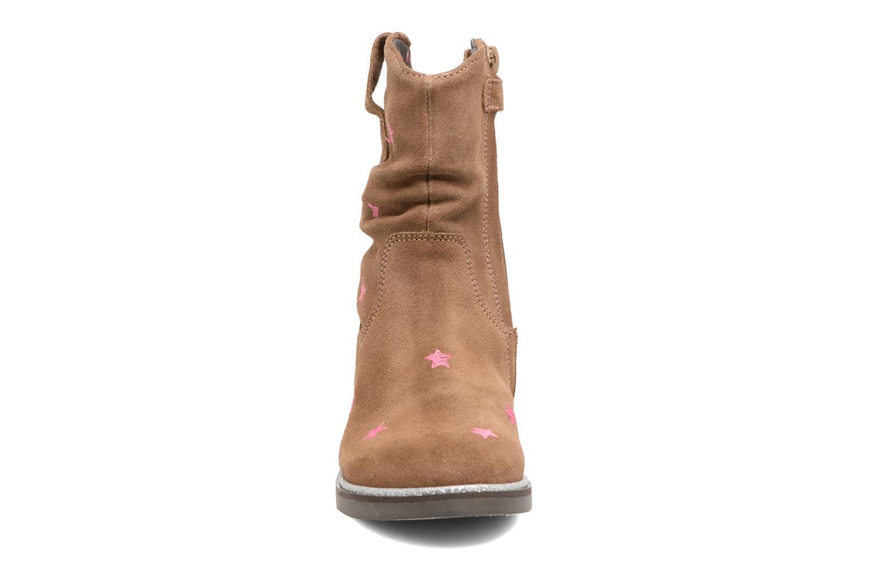 Bottes Shoesme Sandrine Marron vue portées chaussures