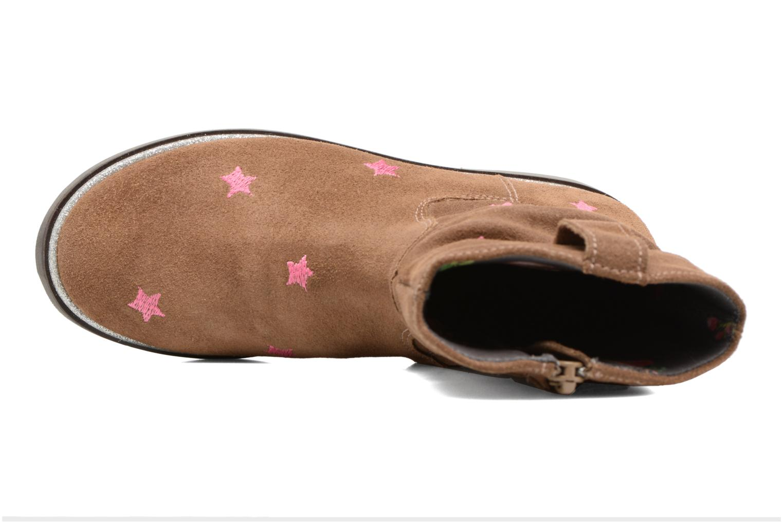 Stivali Shoesme Sandrine Marrone immagine sinistra