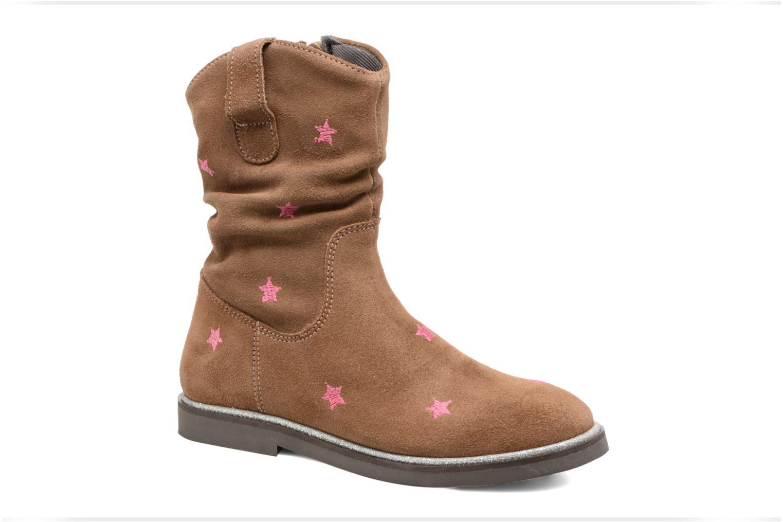 Bottes Shoesme Sandrine Marron vue détail/paire