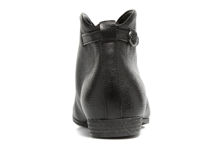 Chaussures à lacets Think! Ebbs 81131 Noir vue droite