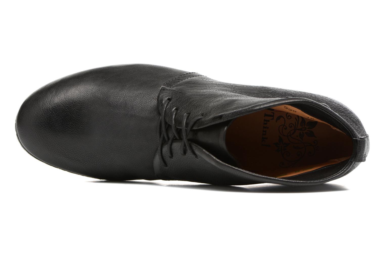 Chaussures à lacets Think! Ebbs 81131 Noir vue gauche