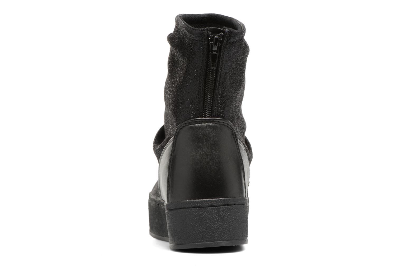 Bottines et boots Colors of California Giulia Noir vue droite