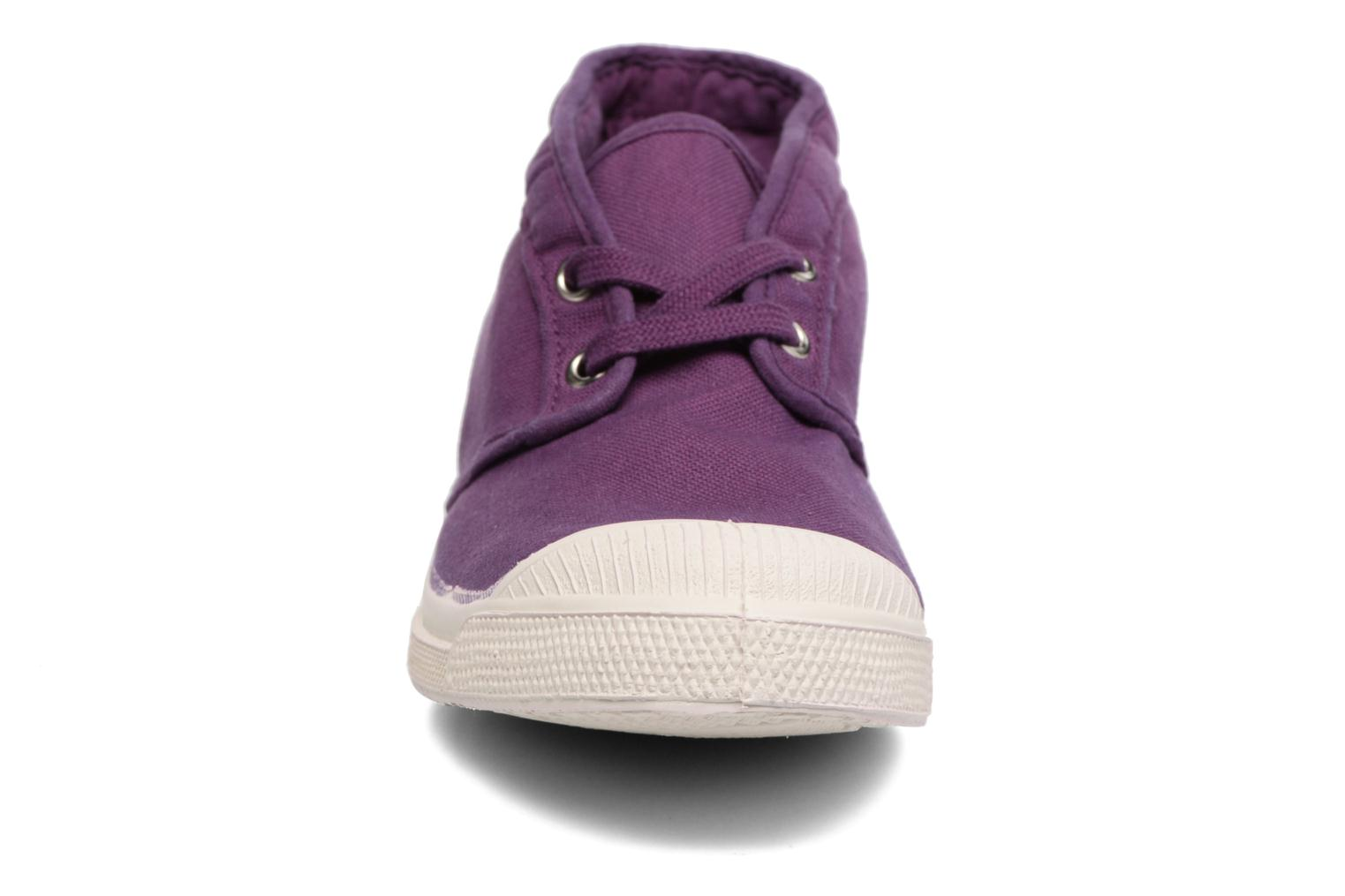 Trainers Bensimon Tennis New Nils Purple model view