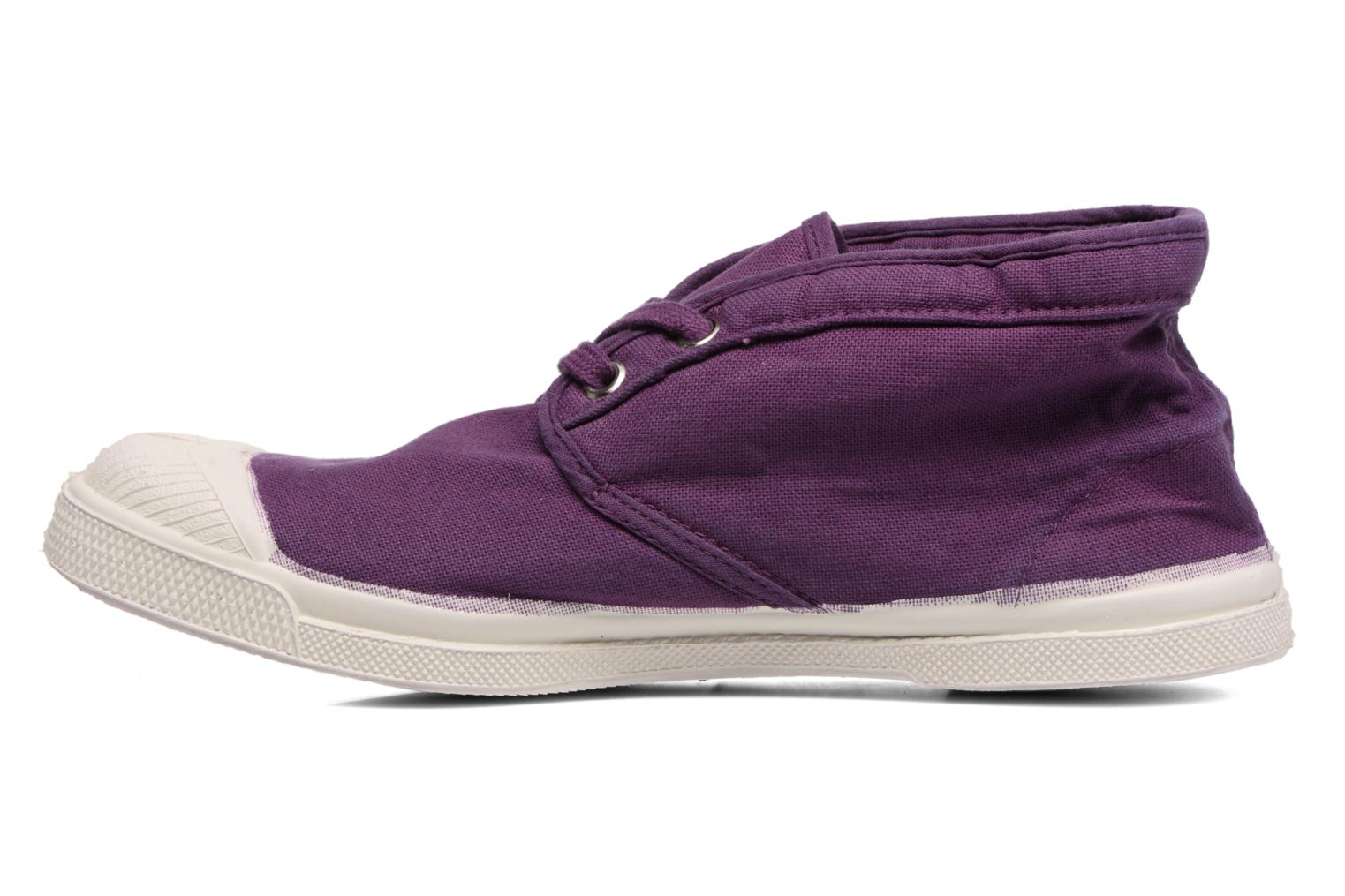 Trainers Bensimon Tennis New Nils Purple front view
