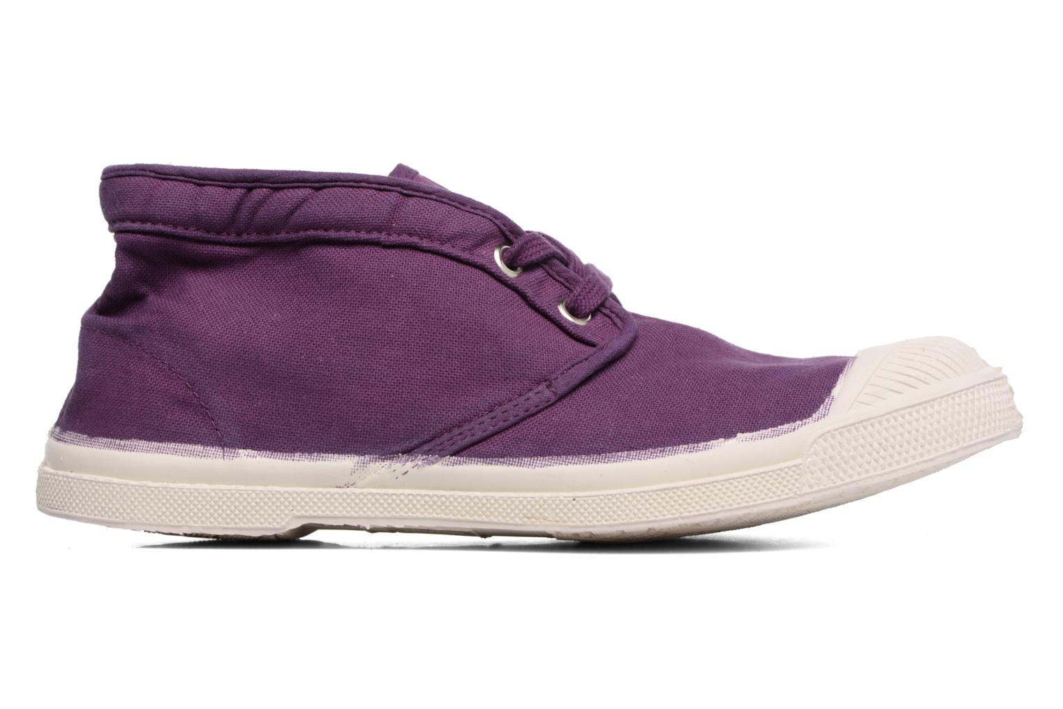 Trainers Bensimon Tennis New Nils Purple back view