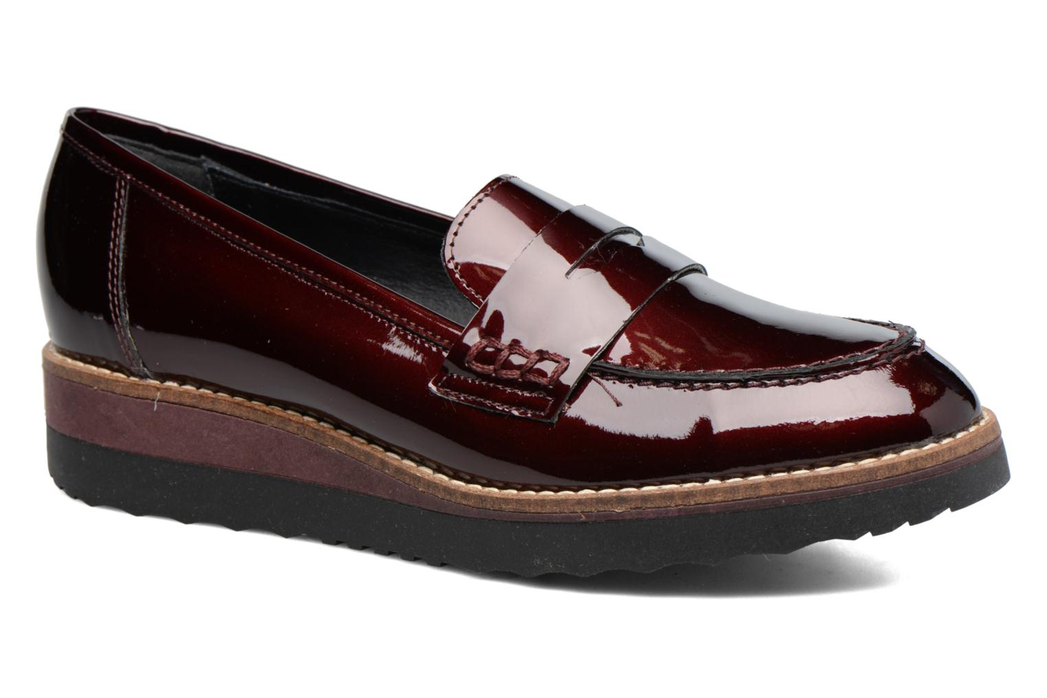Graphic Burgundy Patent