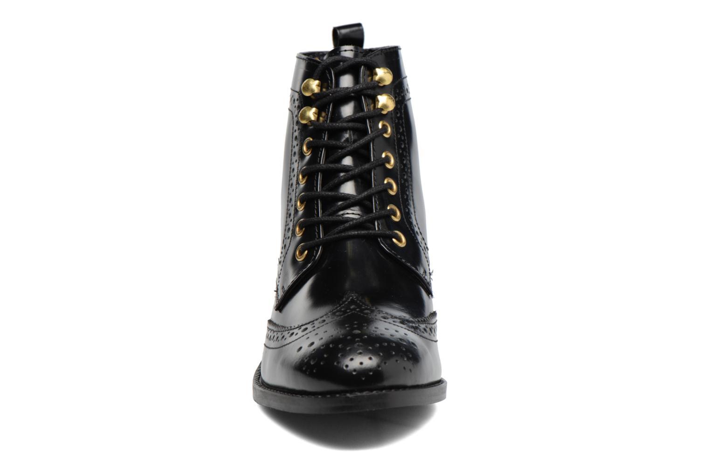 Bottines et boots Dune London Quota Noir vue portées chaussures