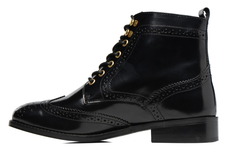 Bottines et boots Dune London Quota Noir vue face