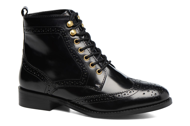 Bottines et boots Dune London Quota Noir vue détail/paire
