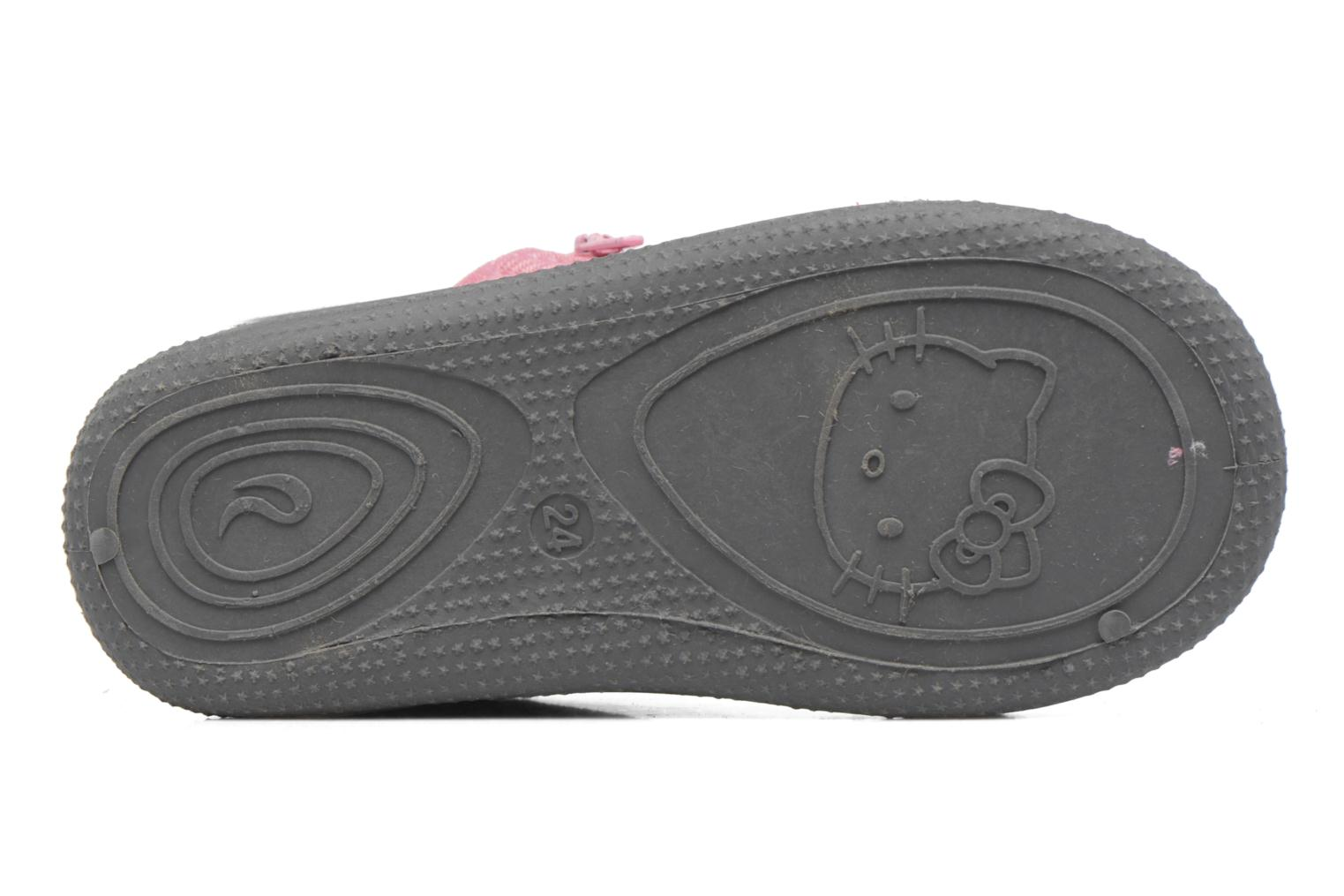 Chaussons Hello Kitty Blanca Gris vue haut