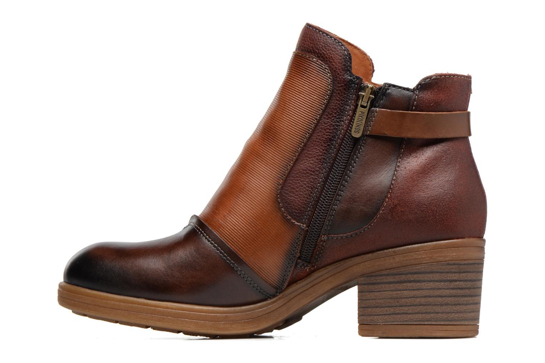 Bottines et boots Pikolinos LYON W6N-8950C1 Marron vue face