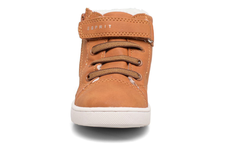 Baskets Esprit Jojo Zip Bootie Marron vue portées chaussures